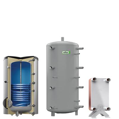 Boiler ACM Rez stocare Schimbator caldura