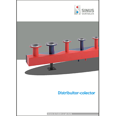 Distribuitor-colector Sinus cop