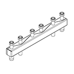 Distribuitor-colector Sinus 60/60, 3 circuite consumator, racord olandez