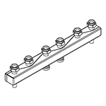 Distribuitor-colector 80/60, 130 mm, 3 circuite RO