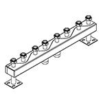 Distribuitor-colector 120/80, 130 mm, 4 circuite RO