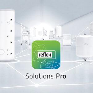 Reflex Solutions Pro - noul instrument software – diponibil acum pentru proiectanti, ingineri si tehnicieni calificati din domeniul instalatiilor termice si sanitare